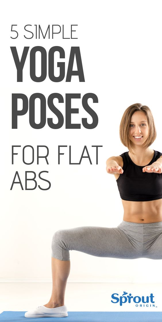 Getting a flat Belly with yoga is very doable, that's why we listed some sim...