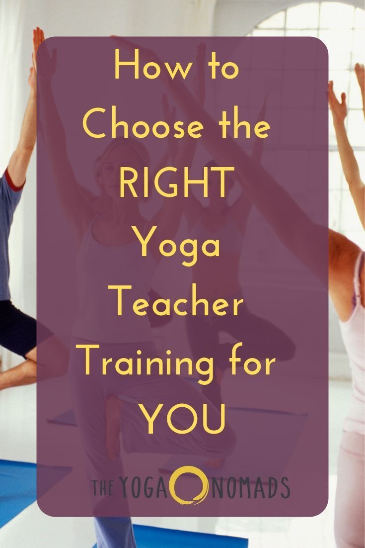 How To Choose the BEST Yoga Teacher Training for YOU. Teacher training is a life...