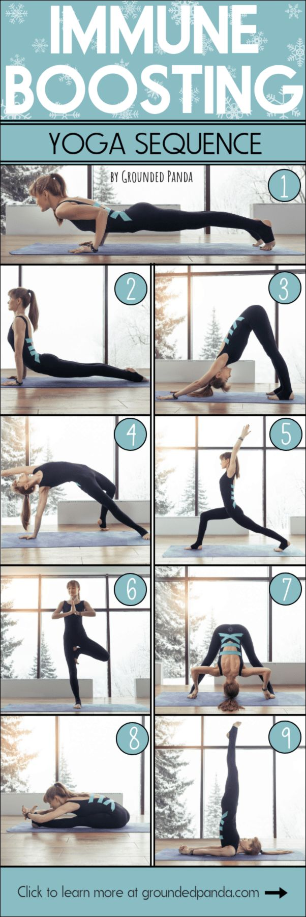 Immune Boosting Yoga Sequence to Stay Flu-Free This Season!