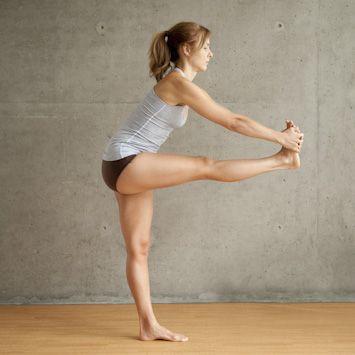 Lisa - Standing Head to Knee Pose pt. 2 #YogaPoses #BikramYoga
