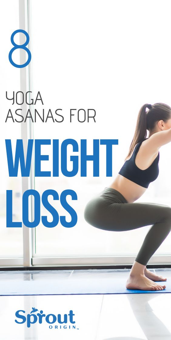 Looking for beginner friendly yoga asanas for weight loss? Here are 8 of the bes...