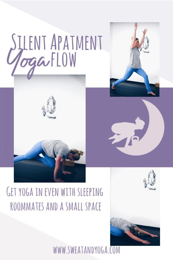 Silent apartment yoga video - get some yoga into your day even if your space is ...