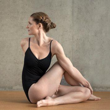 Spine Twisting Pose - Bikram Yoga - #BikramYoga - #YogaPoses
