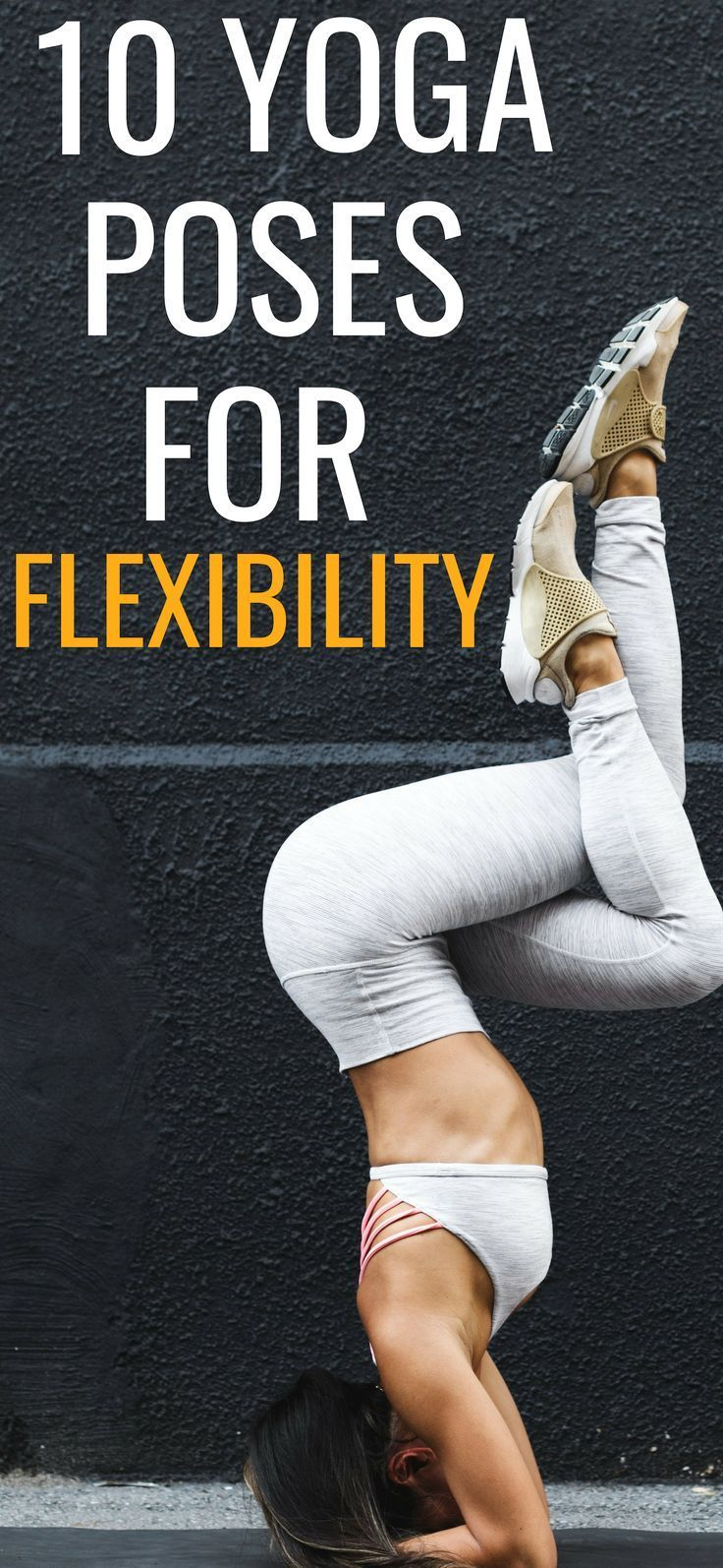 These yoga poses for flexibility are THE BEST!  Beginner Yoga Workout For Flexib...