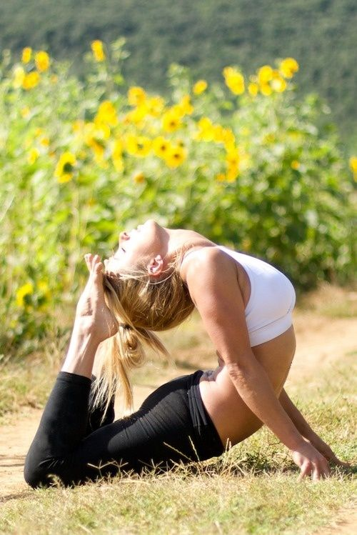 Top 5 Yoga Poses For Managing Stress #yoga #yogaposes