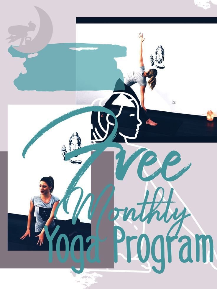 Yoga Challenge delivered to you the first Monday of every month! Don't miss ...