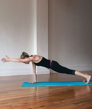 Yoga Poses & Workout : Yoga Poses for Toned Arms - Shape