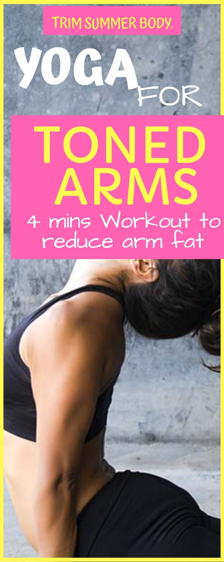 yoga for toning body, yoga for toned arms