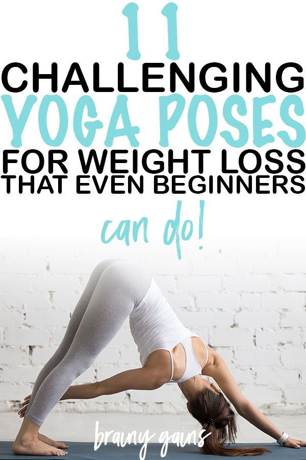 Yoga for weight loss? Heck yeah! Taking up yoga will improve both your physical...