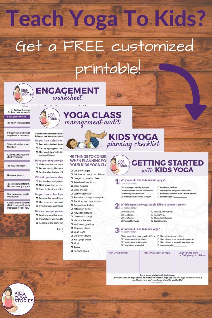 Teach Yoga to Kids... in the classroom or studio? Get help with your biggest cha...