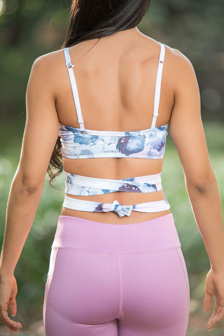 Strappy Wrap Yoga Top
