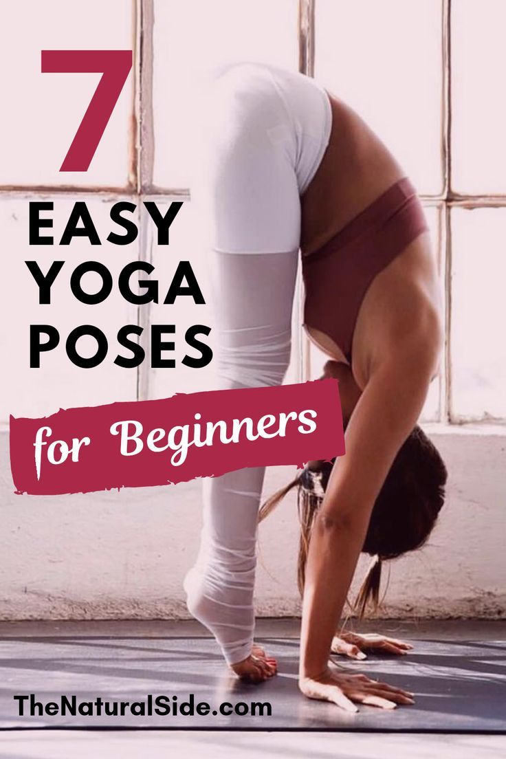 Yoga for Beginners: 15 Minute Home Yoga Workout to Get Started. Learn these 7 Ea...