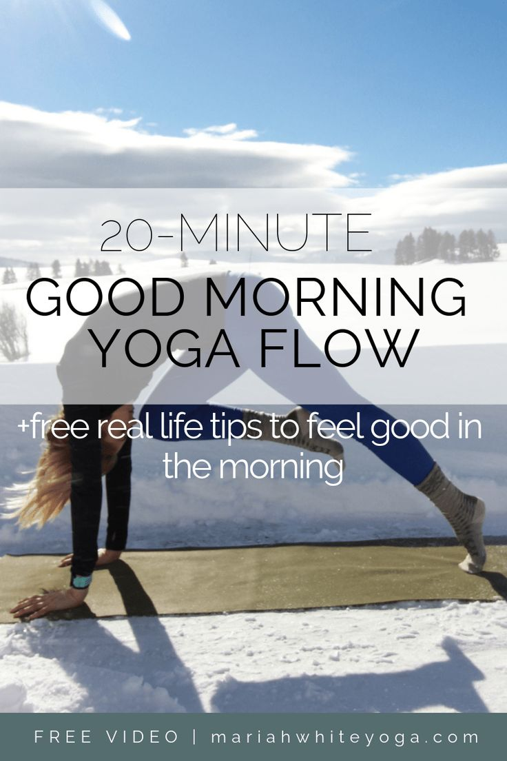 Good Morning Yoga Flow
