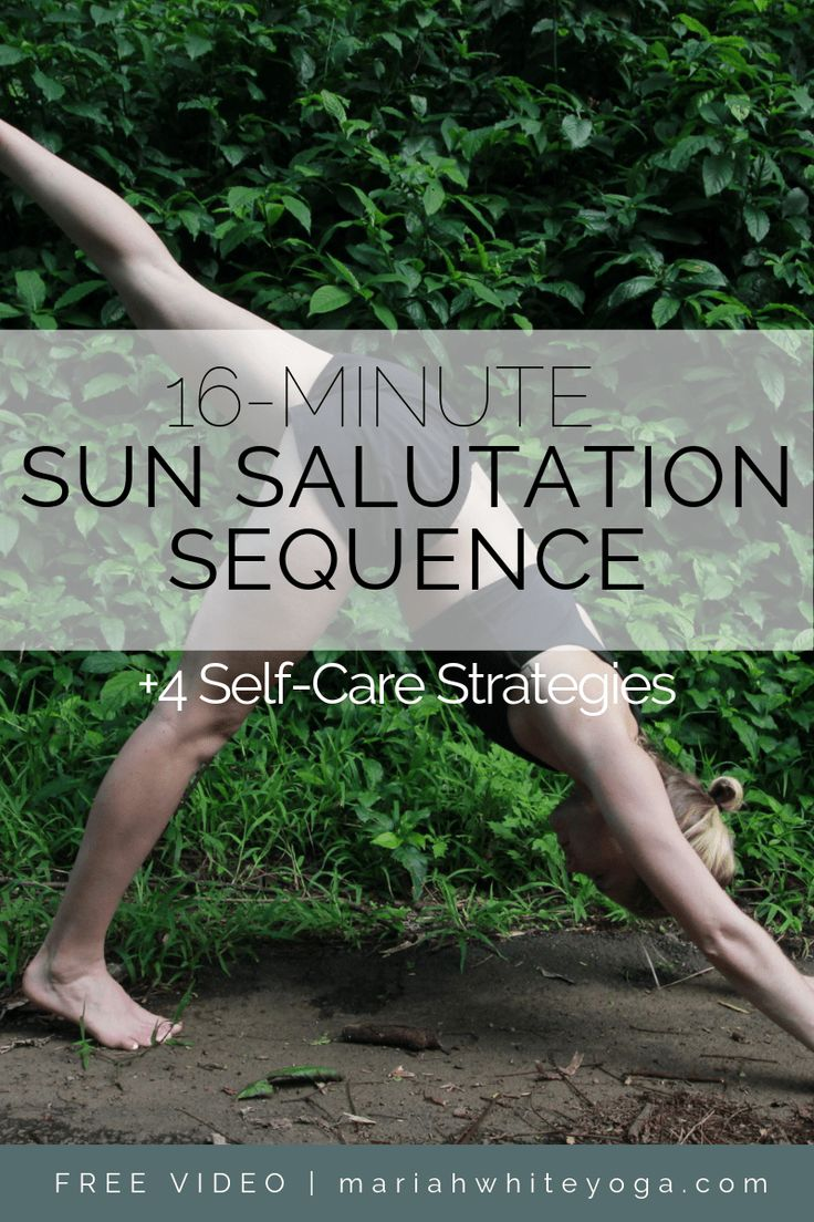 Sun Salutation Sequence