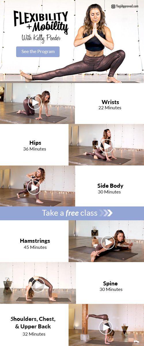 Flexibility & Mobility Online Yoga Program   YogiApproved.com