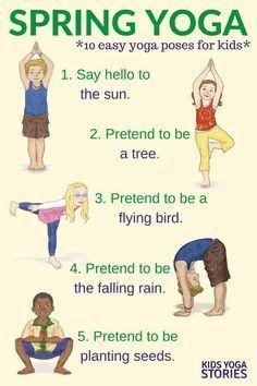 Yoga for Spring (Printable Poster)
