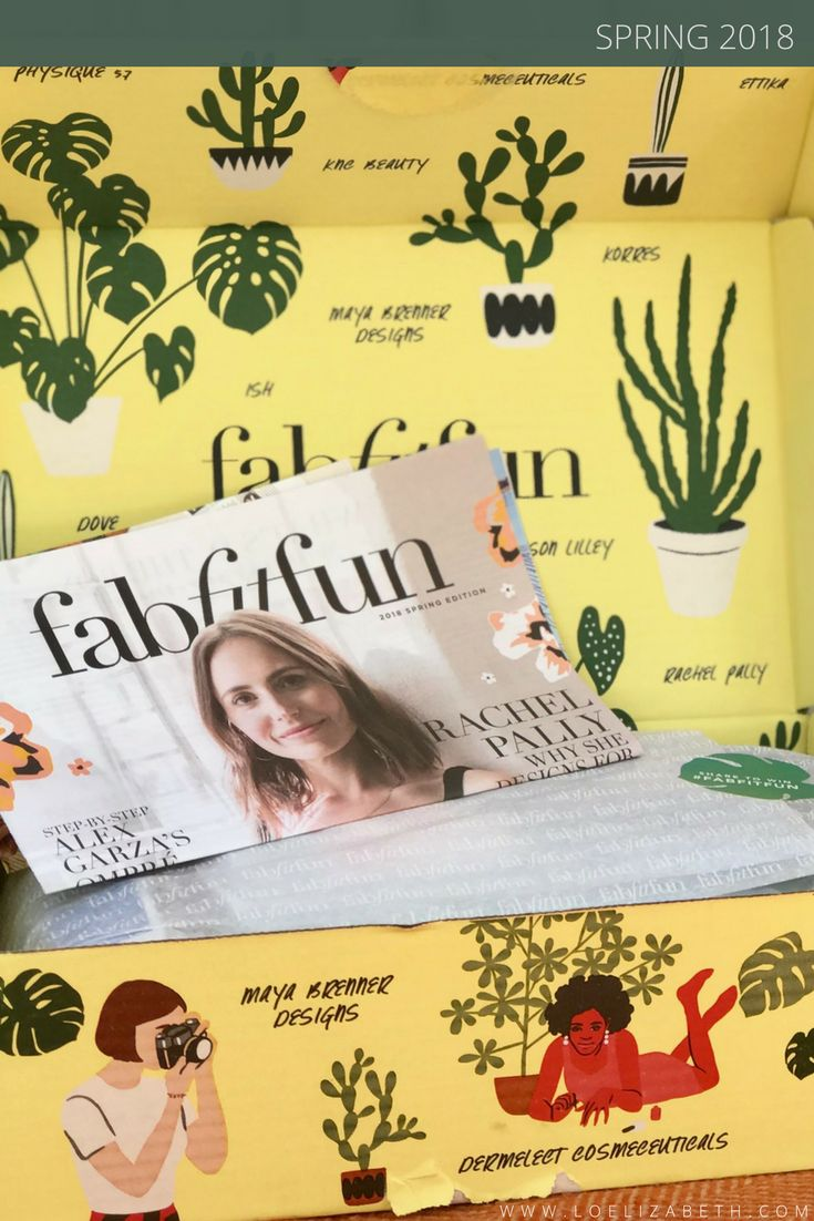 FabFitFun Spring 2018 Box Insider Look And Discount Offer