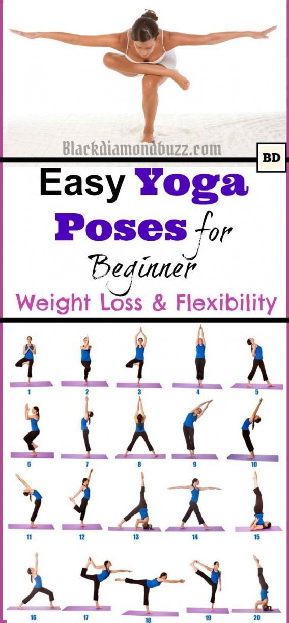 Easy Morning Yoga Poses for Beginner for Weight Loss and Flexibility at Home #Ps...