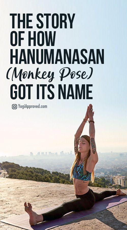 The Story Behind How the Yoga Pose Hanumanasana (Monkey Pose) Got Its Name
