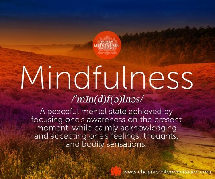 There are countless ways to cultivate mindfulness: meditation, yoga, gratitude ~...
