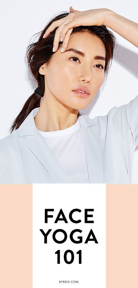 You do yoga to tighten up your body — why not try face yoga for firmer skin? T...