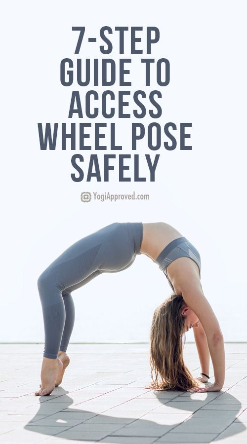 Your Intelligent 7-Step Guide to Access Wheel Pose (Urdhva Dhanurasana) Safely