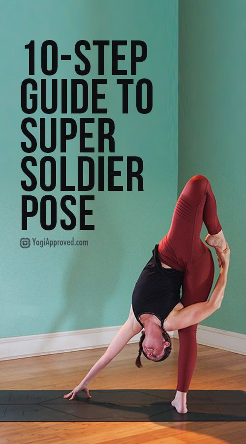 Get Playful with This 10-Step Super Soldier Pose Tutorial