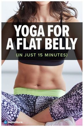 Yoga for a Flat Belly [VIDEO]