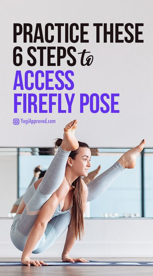 Tittibhasana Time! Practice These 6 Steps to Access Firefly Pose (Photo Tutorial)