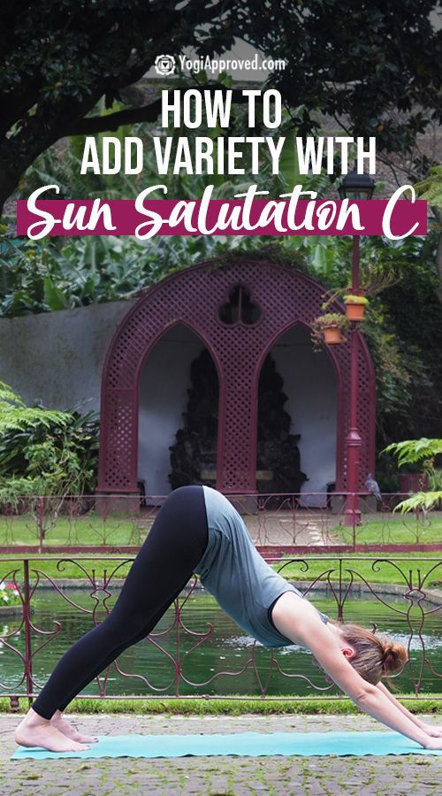 Add Variety to Your Yoga Warm-Up With Sun Salutation C (Photo Tutorial)