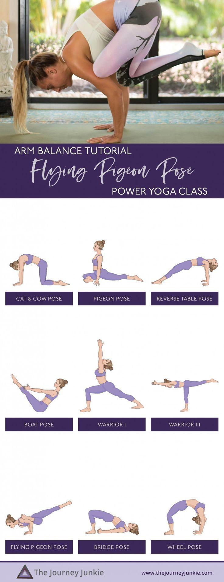Arm Balance Power Yoga Flow