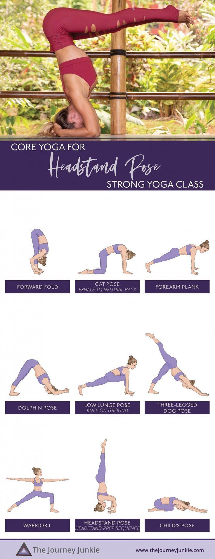 Headstand Yoga Class
