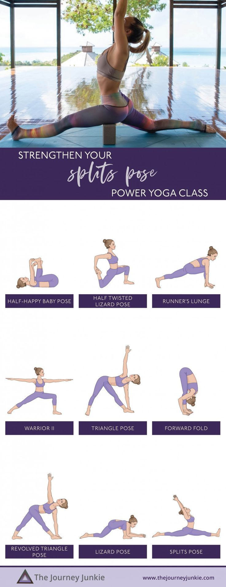 Yoga Class for Splits: Stretch + Strengthen into Hanumanasana