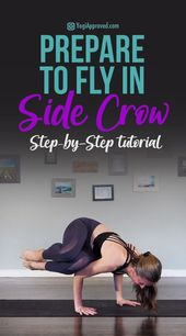 Prepare to Fly With This Step-by-Step Side Crow Photo Tutorial