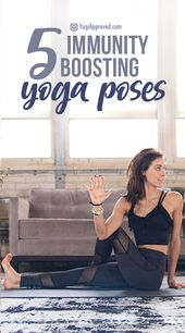 Feeling Under the Weather? Practice These 5 Immunity Boosting Yoga Poses