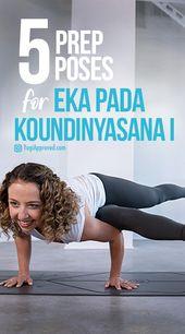 Practice These 5 Yoga Poses to Prepare for Eka Pada Koundinyasana I (Flying Splits)