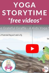 Yoga Storytime Videos for Kids | Kids Yoga Stories