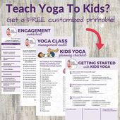 How to Teach Kids Yoga - Free Printables + Video Series