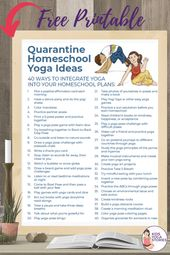 Quick Ways to Add Yoga Resources to Your Quarantine Homeschool