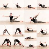 Gentle twisting stretches to release the back, the glutes and the shoulders. #ge...