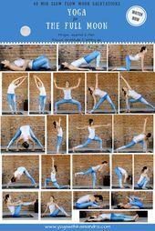 Moon Salutations Flow - 40 min free yoga class