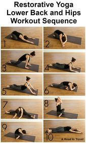 Restorative yoga is a form of yoga that tries to achieve physical, mental and em...