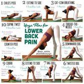 Yoga fir the lower back