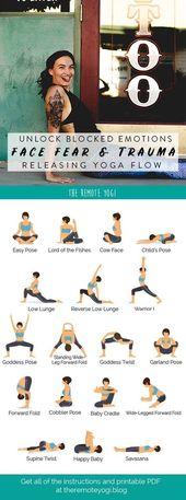 Yoga to Release Emotions – Printable Yoga PDF