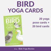 Bird Yoga Cards for Kids