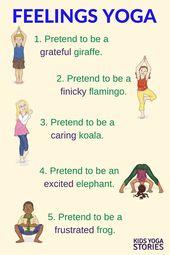 Emotions Yoga   Kids Yoga Stories   Yoga Books for Kids   Yoga Poses for Kids