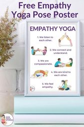 Empathy Yoga Poses (Free Poster)