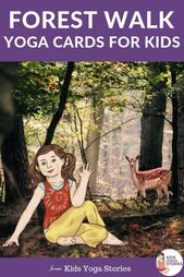 **Forest Walk Yoga Cards for Kids**