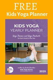 Free Kids Yoga Planner