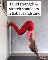 """Kick Ass Yoga on Instagram: """"HOW TO: LADY TUCK This is an interesting one, because you need to actively open your shoulders while moving the hips slightly back. I know…"""""""